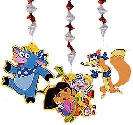 DORA THE EXPLORER DANGLING DECORATION