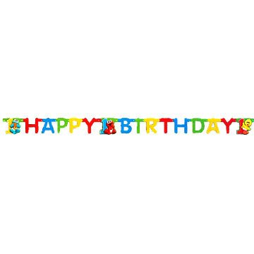 SESAME 1ST BDAY JOINTED BANNER