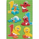 SESAME 1ST BDAY STICKERS