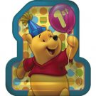 """POOH'S FIRST BDAY DINNER PLATE (9"""")"""