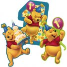 POOH'S FIRST BDAY WALL DECORATION
