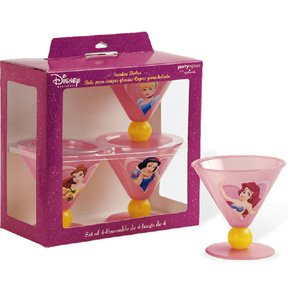 DISNEY PRINCESS FAIRY TL SUNDAE DISH