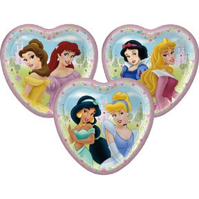 DISNEY PRINCESS FTF DESSERT PLATE (7IN.)