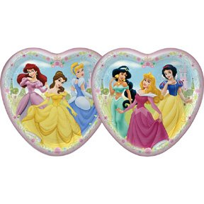 DISNEY PRINCESS FTF DINNER PLATE (9IN.)