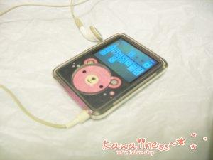 L0007 - LAMB LAMB IPOD 3rd generation skin [Little Bear]
