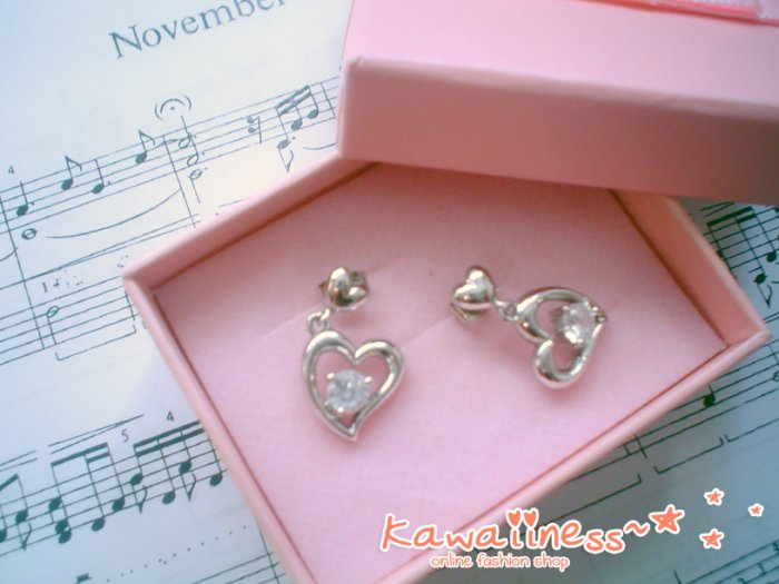 E0005 - Love Diamond Earrings