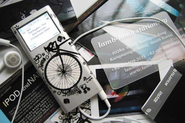 L0053 - LAMB LAMB IPOD 2nd generation [Bicycle Black]