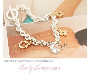 B0095 - LV Style Wrist Chain