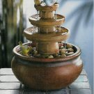 Springtime Bird Water Fountain