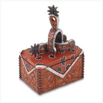 Cowboy Trinket Box
