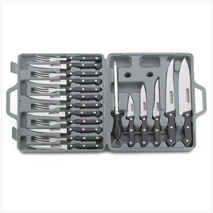 19 pc. Knife Set in Case