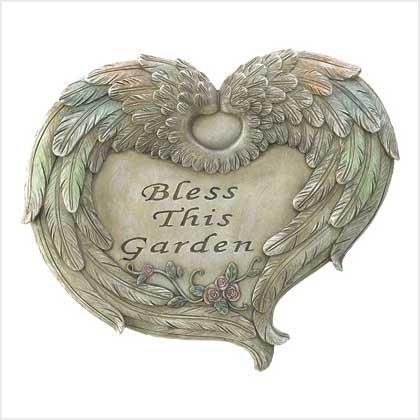 Garden Blessings Plaque
