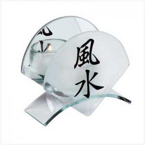 """Feng Shui"" candleholder"