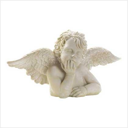 Dreaming Cherub Statue