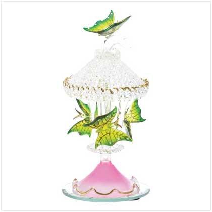 Spun-Glass Butterfly Carousel