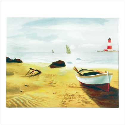 Seaside Scene Canvas Print