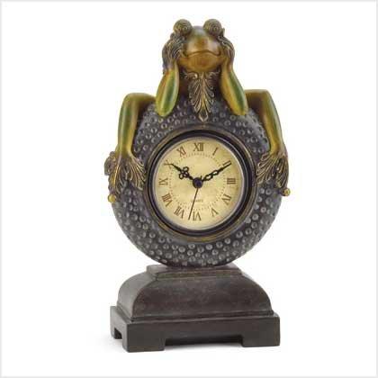 Friendly Frog Clock