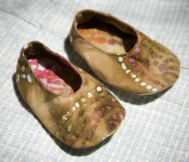 Batik Baby Booties
