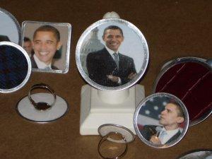 Large OBAMA RING- Barack Obama Collectable