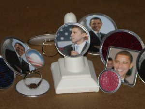Medium OBAMA RING - Barack Obama Collectable
