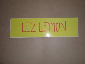 LEZ LEMON