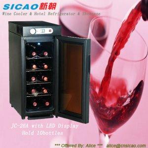SICAO- wine cooler,home cellar,display showcase,mini bar JC-26A
