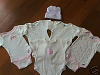 LOT of Newborn Onesies with Bonus