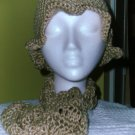 Hand Made Crochet Hat and Scarf Set