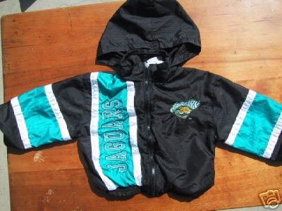 JACKSONVILLE JAGUARS toddler 4T hooded JACKET