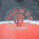 San Francisco GIANTS tie-dyed YOUTH size XL(18) T-SHIRT