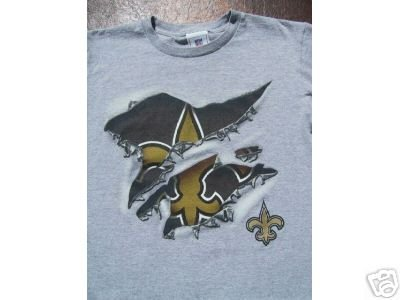 NEW ORLEANS SAINTS youth size 10-12 T-SHIRT reggie bush