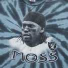 RANDY MOSS - oakland raiders - YOUTH M(7-8) T-SHIRT