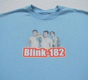 BLINK 182 --- Youth size XL(16-18) T-SHIRT punk