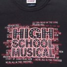 HIGH SCHOOL MUSICAL disney GIRL'S M(7-8) TOP TEE SHIRT