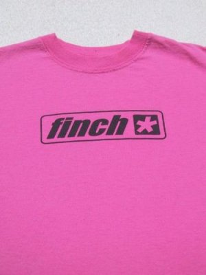 FINCH perfection through silence YOUTH GIRL'S M(8-10) T-SHIRT