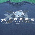 rare XFL Los Angeles XTREME youth S(8-10) T-SHIRT