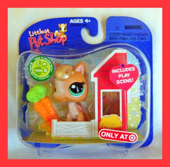 Littlest Pet Shop Target Exclusive Tan Pony #405