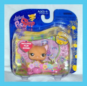 Littlest Pet Shop Target Exclusive Orange Tabby Cat Kitty