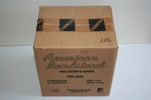 Sealed Case of American Bandstand Collector's Cards