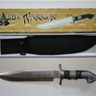 New! - Aztec Warrior Bowie Knife With Sheath