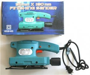 Brand New! Electric Finishing Sander (Color Gift Boxed)