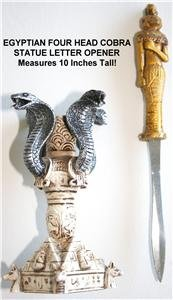 Brand New! - Egyptian Letter Opener with display stand