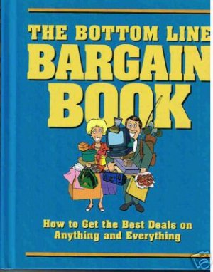 New! - The Bottom Line Bargain Book