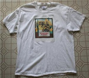 New/Rare! - Clint Eastwood Italian Western Men's Shirt