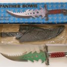 "New! - 20"" Panther Fantasy Knife with leather sheath"