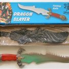 "New! - 22-1/2"" Dragon Slayer Fantasy Knife with sheath"
