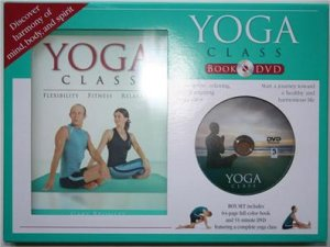 New! - Yoga Class (64 Page Book & 51-Minute DVD)