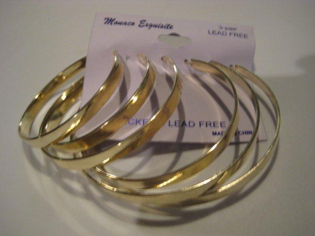 Goldtone Earrings