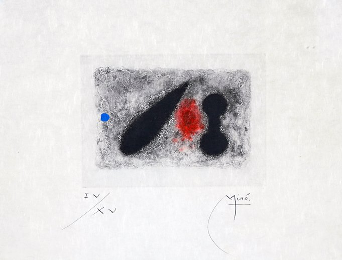 Untitled, by Joan Miró (Spanish 1893-1983)