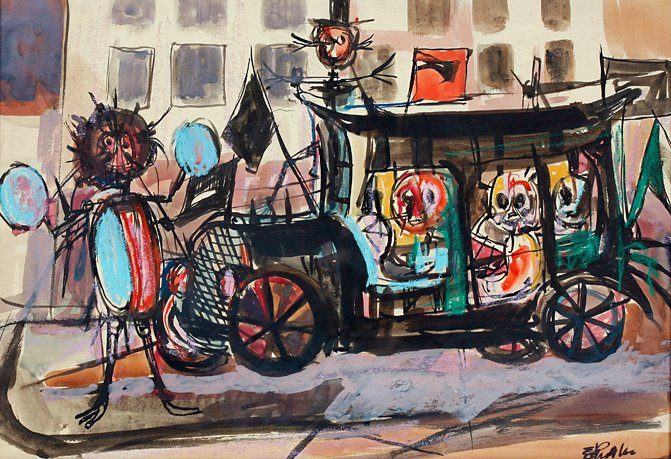 Taxicab, by Eligio Pichardo